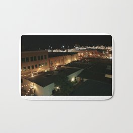 Twinkle Lights and the Delight of City Life Bath Mat