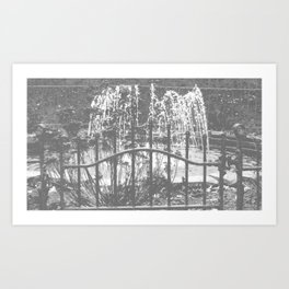 dream/fountain Art Print
