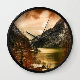 Austrian Wanderlust Wall Clock