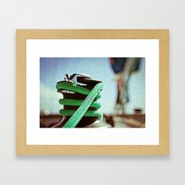 Yacht Rope - British Virgin Islands Framed Art Print