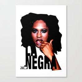 TOILET CLUB #lanegra Canvas Print
