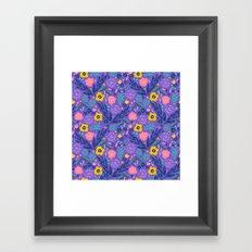 Flora Delight Framed Art Print