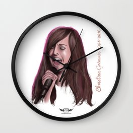 Christina Grimmie Wall Clock