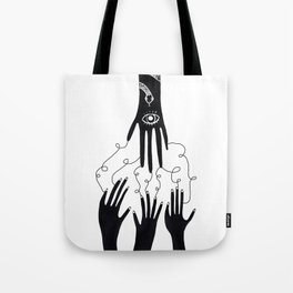 Take what you get here Tote Bag