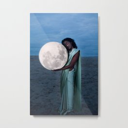 Where do we go when we all fall asleep anyways? Ver ii Metal Print