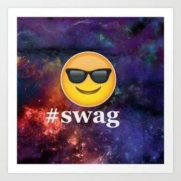 #Swag Art Print