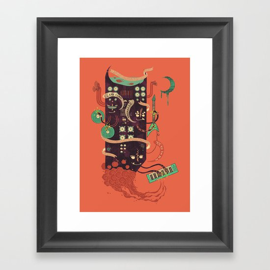 Power Trio Framed Art Print