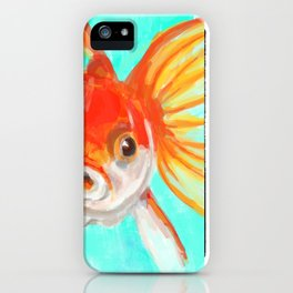 A Goldfish Kind of Day iPhone Case