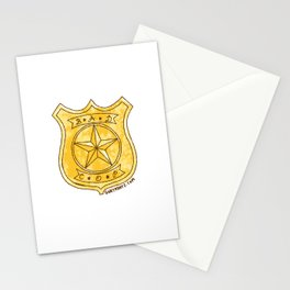 Bad Cop Stationery Cards