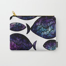 Galaxy Fish Pattern 02 Carry-All Pouch
