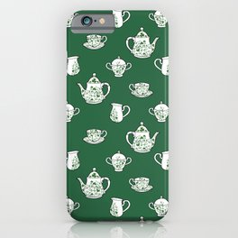 Irish Tea Party iPhone Case