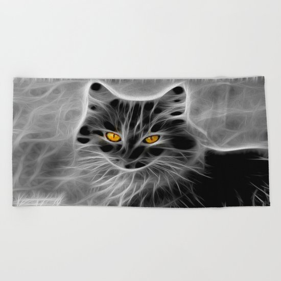CAT Beach Towel