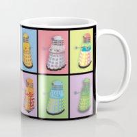 dalek Mugs featuring Dalek Dreams by Megs stuff...