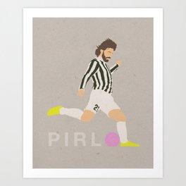 Pirlo Art Print