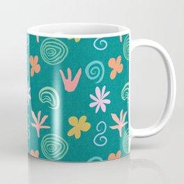 DP251 Floral Pattern Coffee Mug