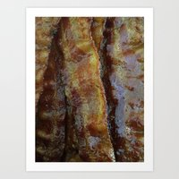 bacon Art Prints featuring Bacon by John Grey