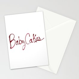 BabyCakes Stationery Cards