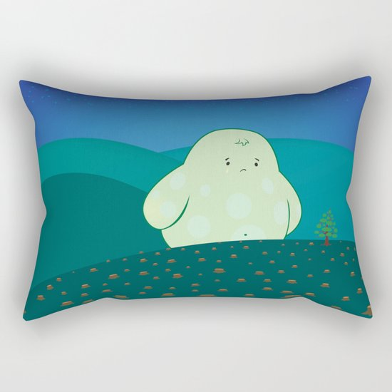 Forest Guardian Rectangular Pillow