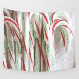 Candy Cane Stash Wall Tapestry