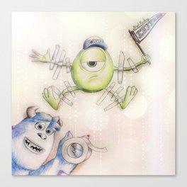 Monster's University Canvas Print