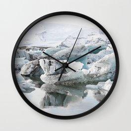 Tip Of The Iceberg IIII Wall Clock