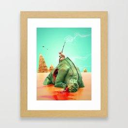 Moebius Tribute Framed Art Print