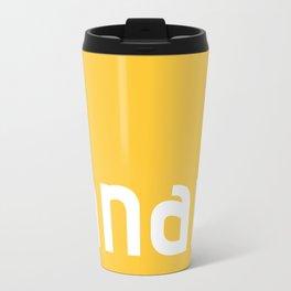 Colors - Banana Travel Mug