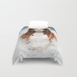 To play with fire Duvet Cover