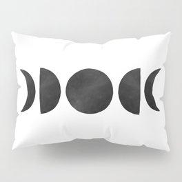 minimalist moon phases Pillow Sham