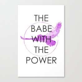 The Babe With The Power (Labyrinth) Canvas Print