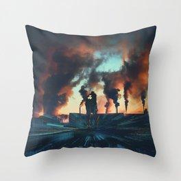 Radioactive man Throw Pillow