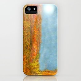Colorful Woodlands iPhone Case