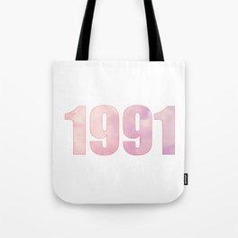 1991 BY ROBERT DALLAS Tote Bag