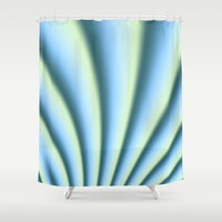apollo Shower Curtains featuring Apollo in MWY 00 by Charma Rose