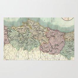 Vintage Map of Portugal (1801) Rug