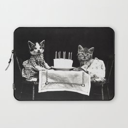 Happy Birthday Kittens - Harry Whittier Frees - 1914 Laptop Sleeve