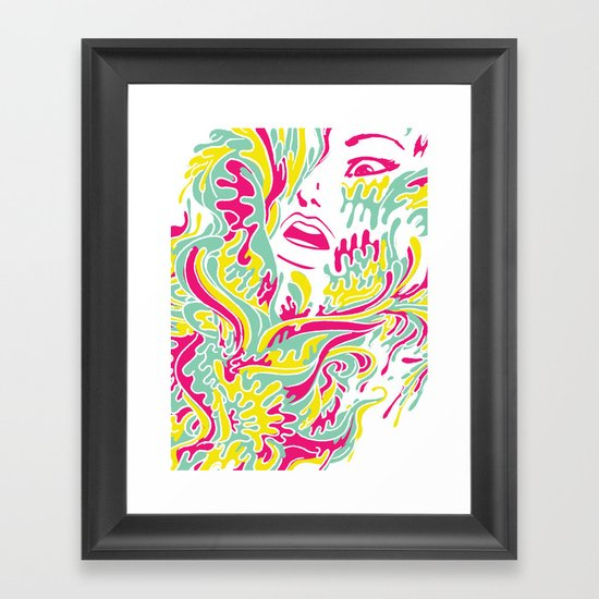 Eyegasmic Framed Art Print