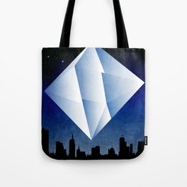 Ramiel Thunder of God Vector Angel Art from Evangelion Anime Series. Tote Bag
