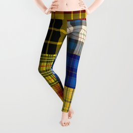 Crazy Plaid Leggings