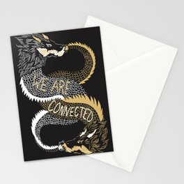 We are Connected Stationery Cards