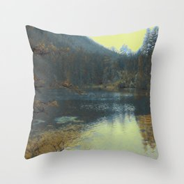 Lake III Throw Pillow