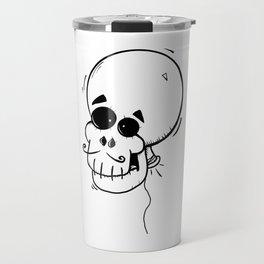 Ballon skull Travel Mug