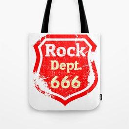 Rock Metal 666 Gift for Blackmetal Fans Tote Bag