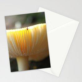 Mushroom L Stationery Cards