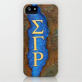 Sigma Gamma Rho Sister in Profile iPhone Case