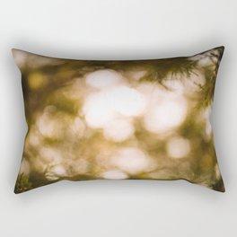 Dreamy Forest Light Rectangular Pillow