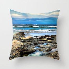 Beachscape, Hungry Head (1) Throw Pillow