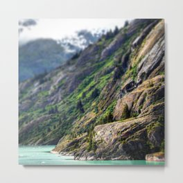 Mountain in Focus Metal Print