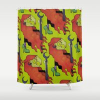 witch Shower Curtains featuring Witch by Iribú