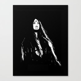 Morrigan - Hound 1 Canvas Print
